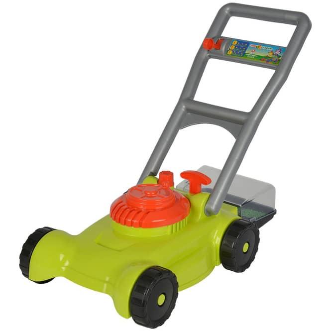 Kinder-Rasenmäher mit Auffangkorb