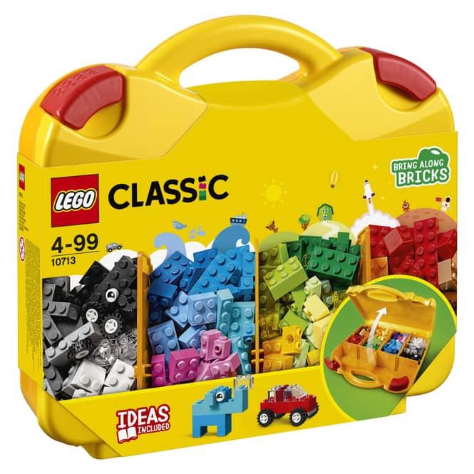 LEGO® Classic 10713 - LEGO® Bausteine Starterkoffer - Farben sortieren