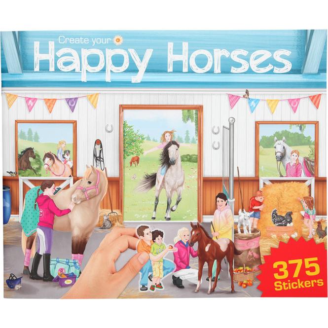 Create your Happy Horses - Stickerbuch