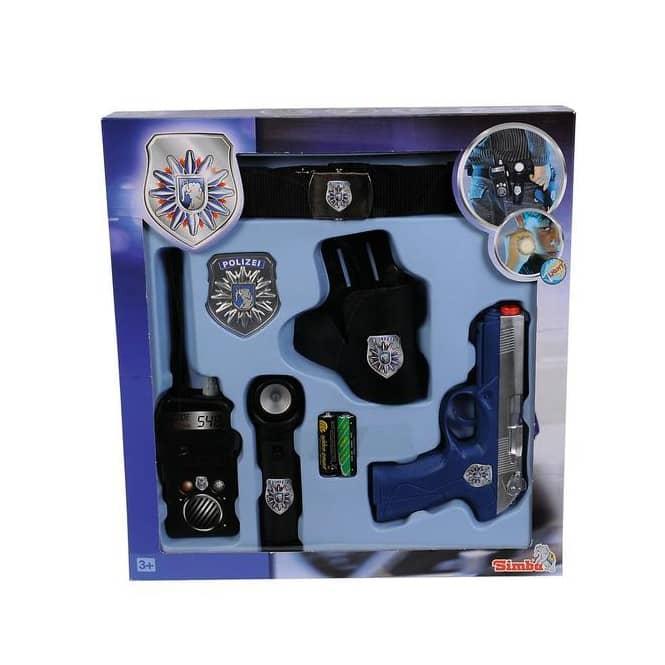 Polizeigürtel - Polizei Spielset - 6-teilig