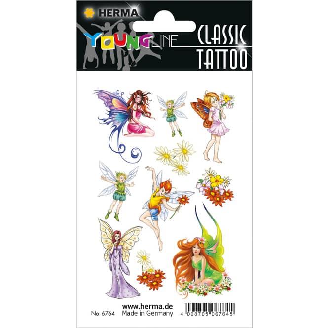 10 Tattoos für Kinder - Feen