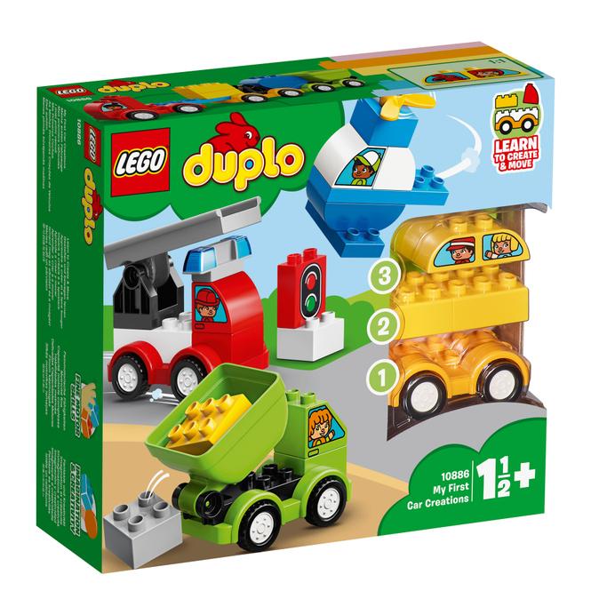 LEGO® DUPLO® Creative Play 10886 - Meine ersten Fahrzeuge