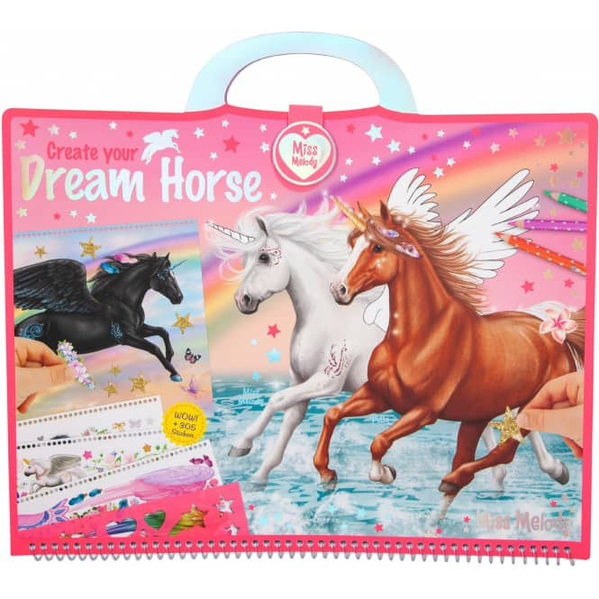 Miss Melody - Create your Dream Horse - Malbuch