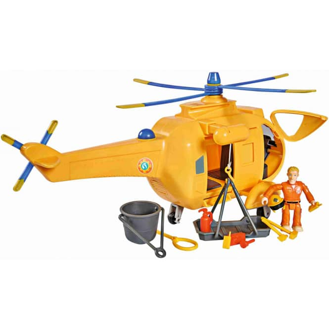 Feuerwehrmann Sam - Wallaby 2 Hubschrauber mit Figur