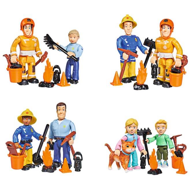 Feuerwehrmann Sam - Figuren im Doppelpack - verschiedene Modelle
