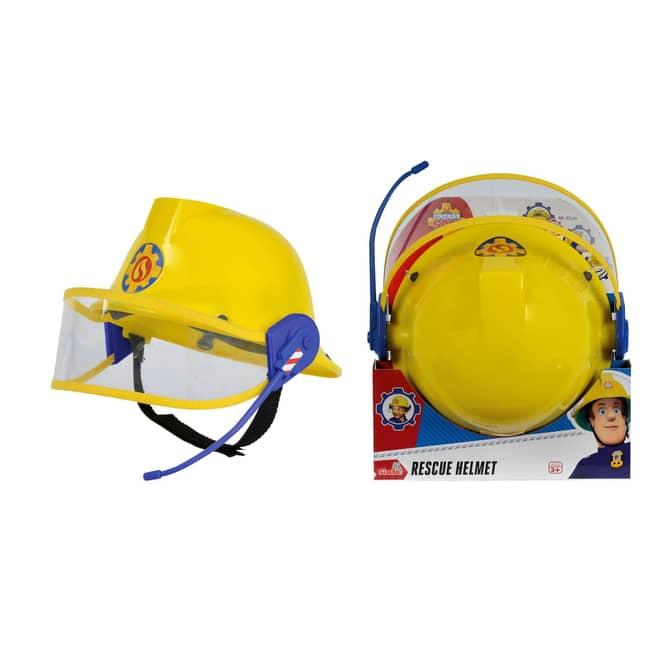 Feuerwehrmann Sam - Helm mit Mikrofon von Simba - ca. 48-53 cm