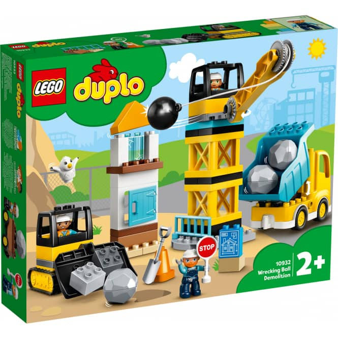 LEGO® DUPLO® Town 10932 - Baustelle mit Abrissbirne