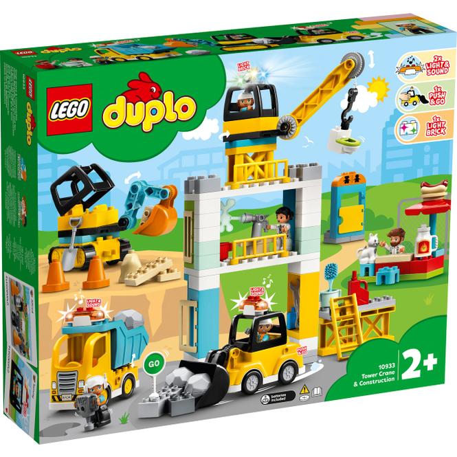 LEGO® DUPLO® Town 10933 - Große Baustelle mit Licht und Ton