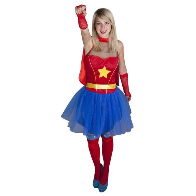 Kostüm - Supergirl, für Erwachsene