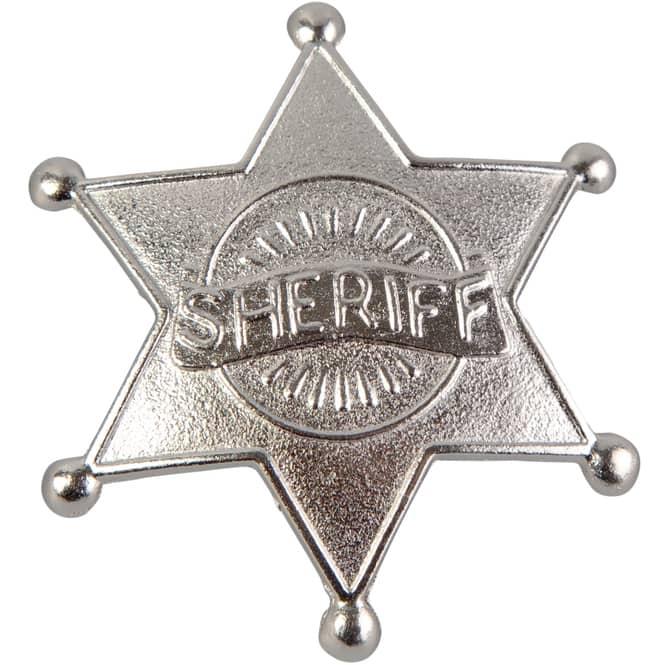 Sheriff-Stern - Ø = 5 cm