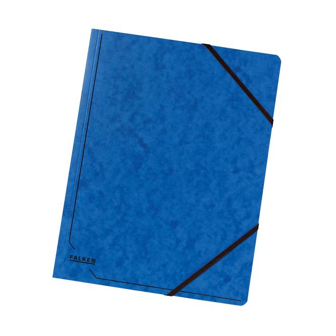 Eckspanner A4 blau blau