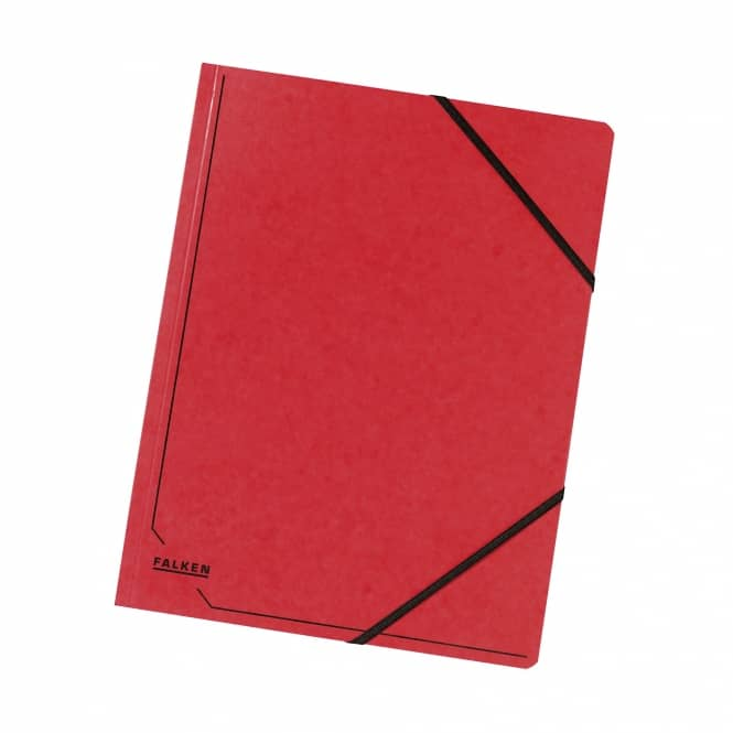 Eckspanner A4 rot rot