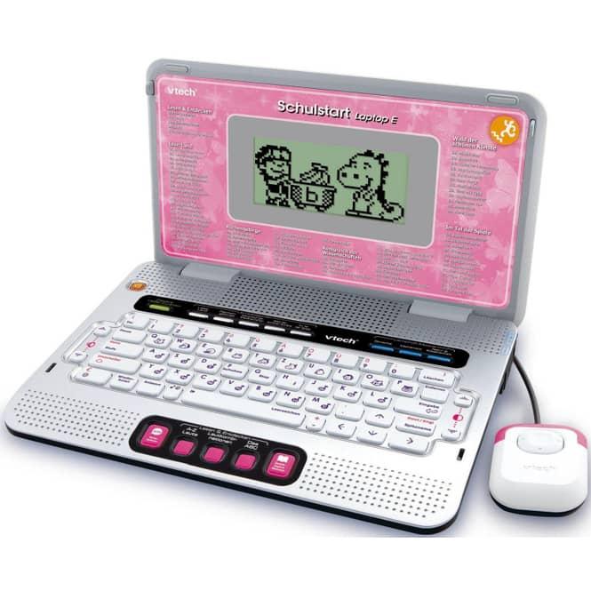 Schulstart Laptop E pink VTech