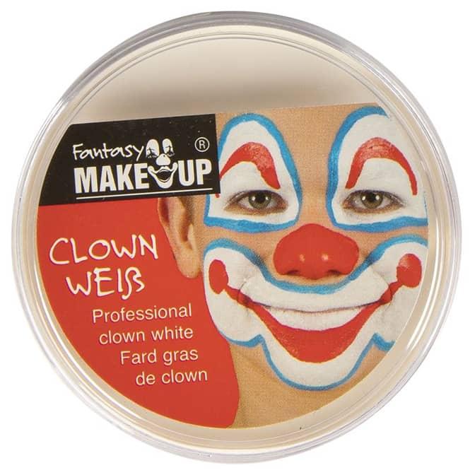 Schminke Clownweiß