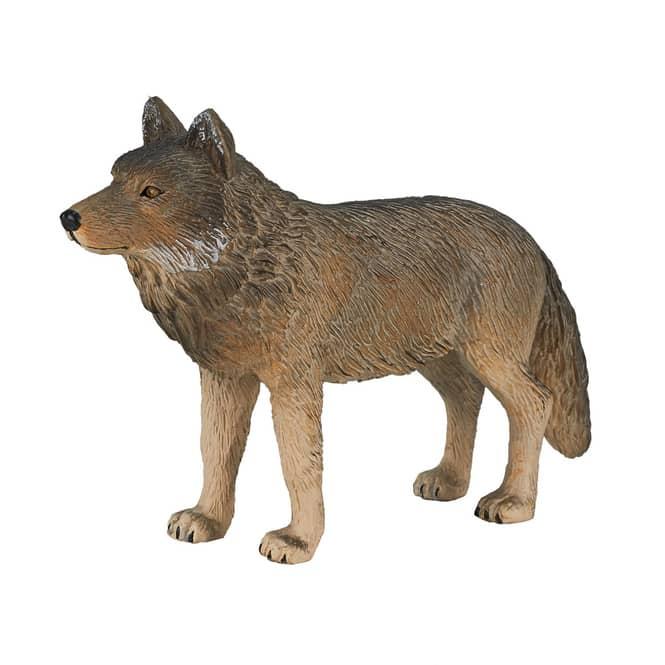 Besttoy Woodland - Wolf stehend - Spielfigur 387025