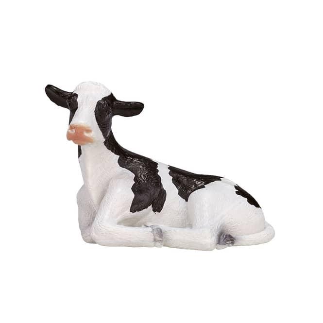 Besttoy Farmland - Holstein-Kalb - liegend - Spielfigur 387082