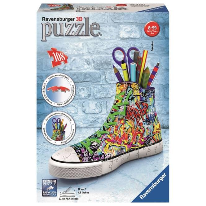 3D Puzzle - Sneaker Graffiti Style - 108 Teile