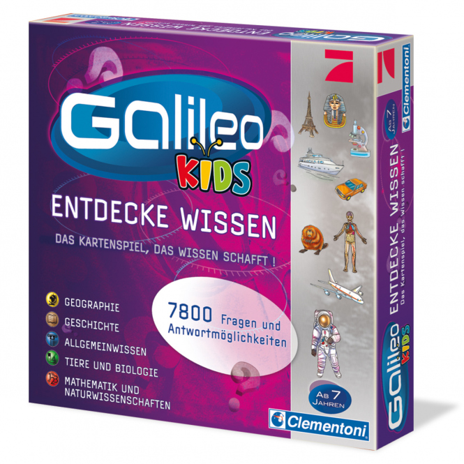 Galileo - Kids Entdecke Wissen - Clementoni