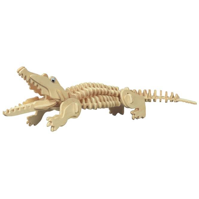 Besttoy - Holz-Modellbau - Krokodil