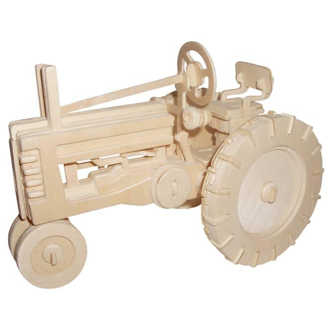 Besttoy - Holz-Modellbau - Traktor