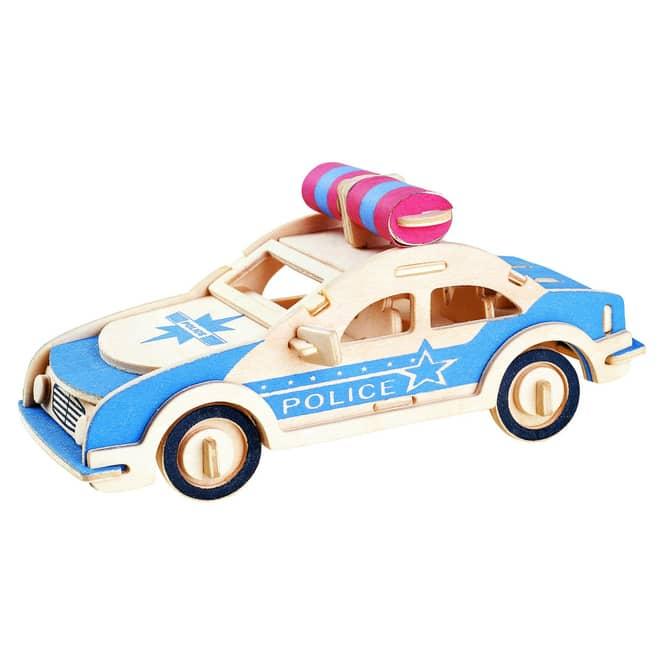 Besttoy - Holz-Modellbau - Polizeiauto
