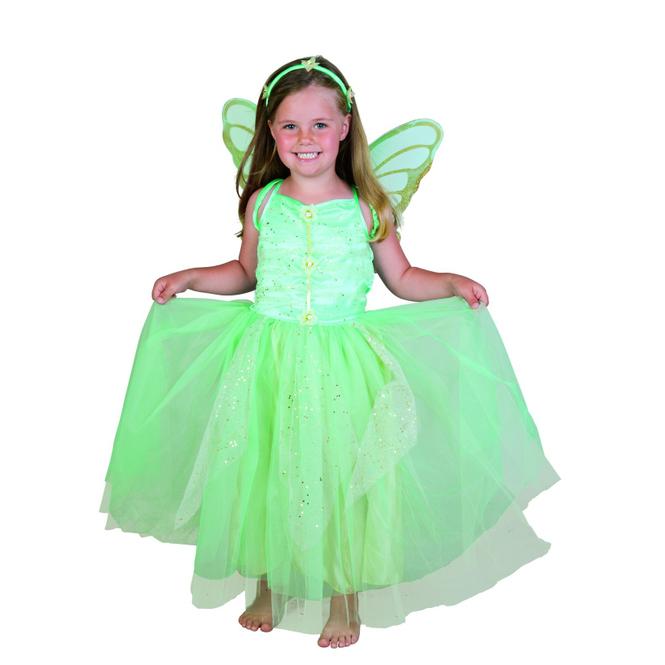 "Kinder Kostüm ""Grüne Blumenfee"""