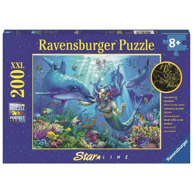 Puzzle - Leuchtendes Unterwasserparadies - 200 XXL Teile - Starline