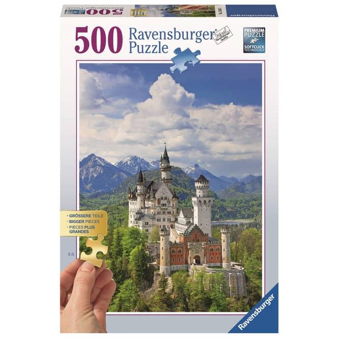 Puzzle - Märchenhaftes Schloss Neuschwanstein - 500 Teile