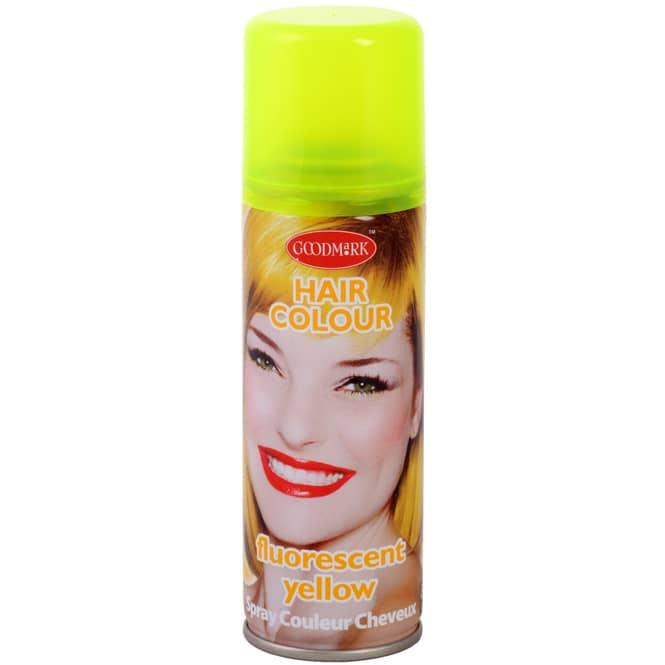 Color-Haarspray - Neon - 125 ml - gelb