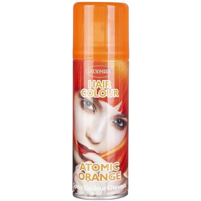 Color-Haarspray - Neon - 125 ml - orange