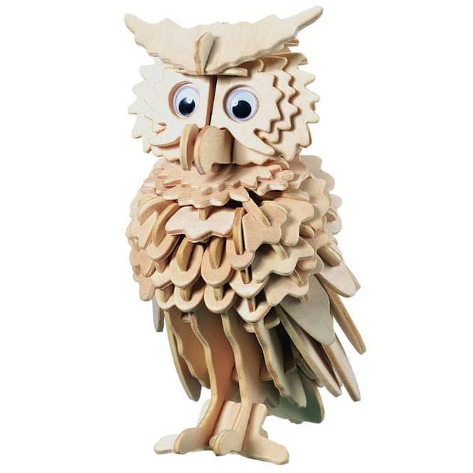 Besttoy - Holz-Modellbau - Eule
