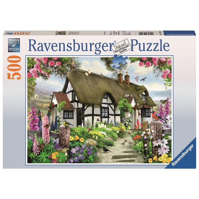 Puzzle - Verträumtes Cottage - 500 Teile