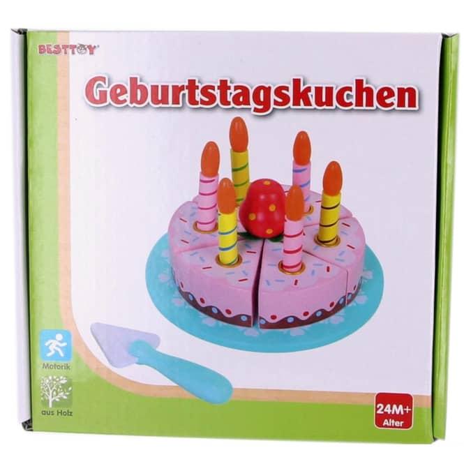 Besttoy - Geburtstagskuchen aus Holz