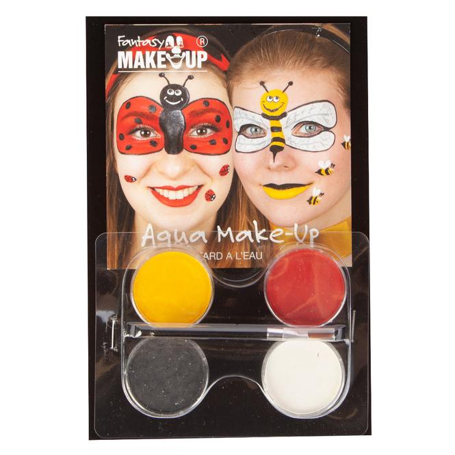 Aqua Make-Up Schminkset mit Anleitung