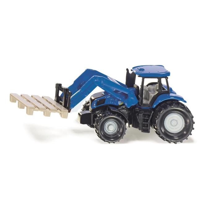 Siku Super 1487 - Traktor mit Palettengabel und Palette