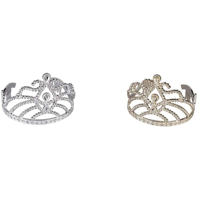 Prinzessinnen-Krone - Ø = 11 cm - 1 Stück