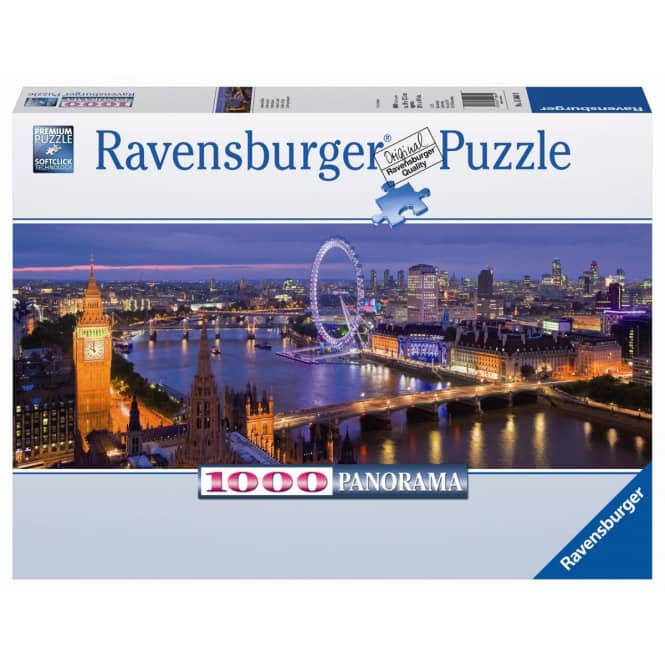 Panorama Puzzle - London bei Nacht - 1000 Teile