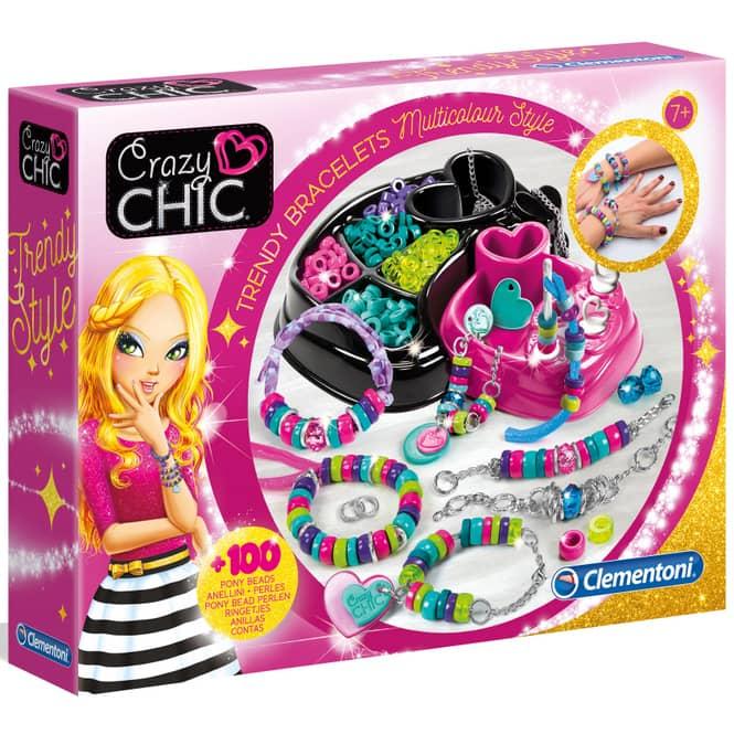 Crazy Chic - Trendige Perlenarmbänder - Clementoni