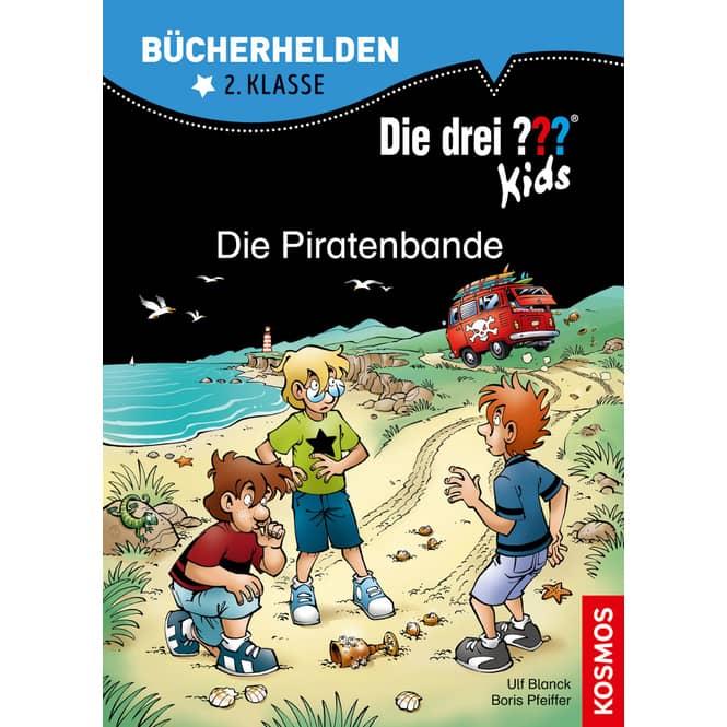 Die drei ??? Kids - Die Piratenbande - Bücherhelden 2.Klasse