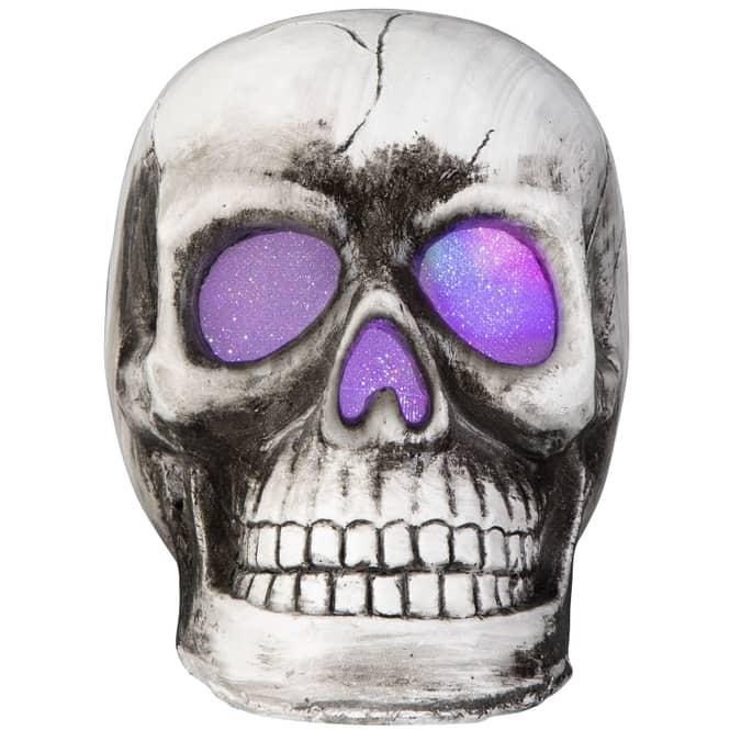 LED-Totenkopf - Maße: ca. 20 x 14 x 16 cm