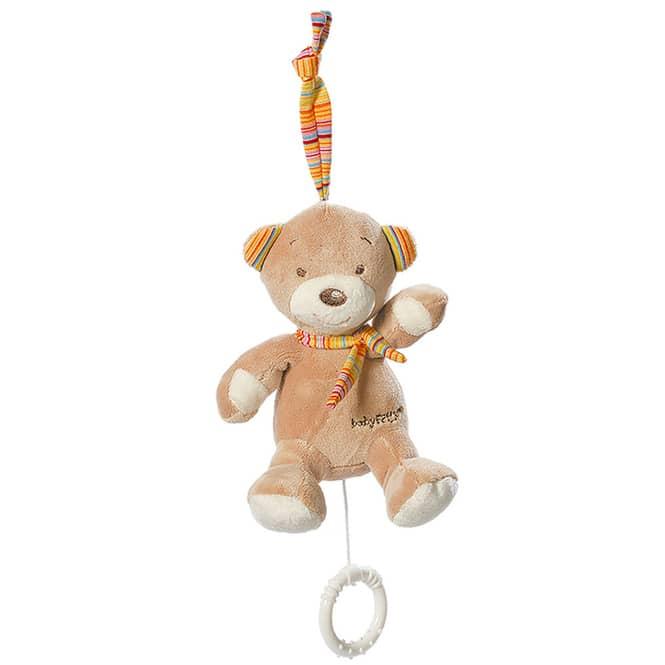 Mini Spieluhr Teddy, 16cm