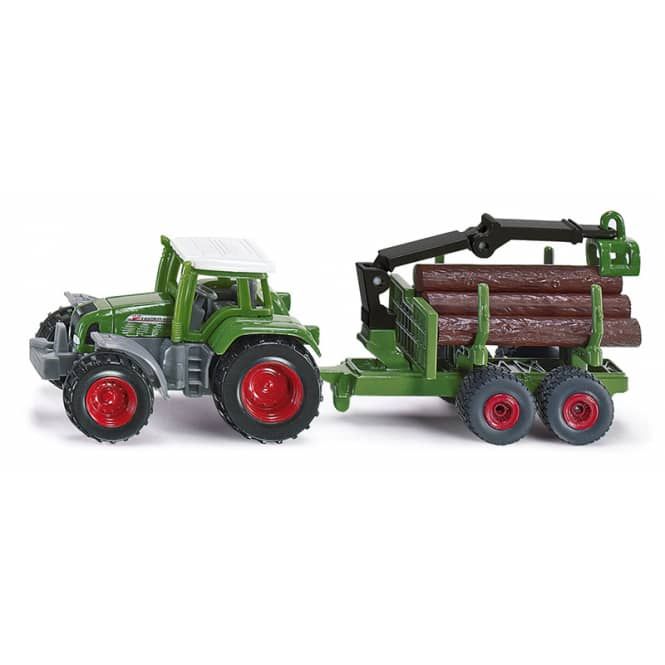 Siku Super 1645 - Traktor mit Forstanhänger