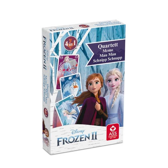 Die Eiskönigin 2 - Kartenspiel 4-in-1