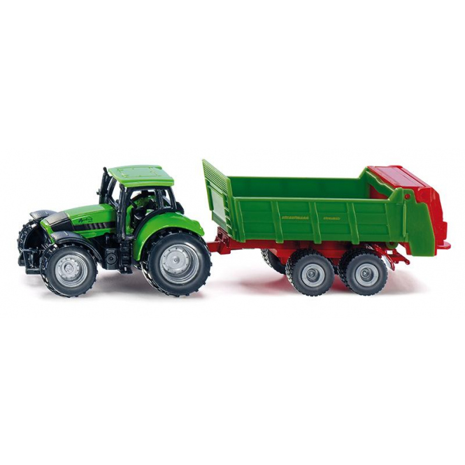 Siku Super 1673 - Traktor mit Universalstreuer