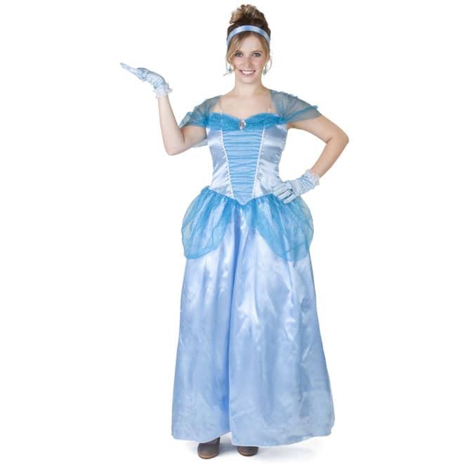 Kostüm - Prinzessin - für Erwachsene - 2-teilig - verschiedene Größen