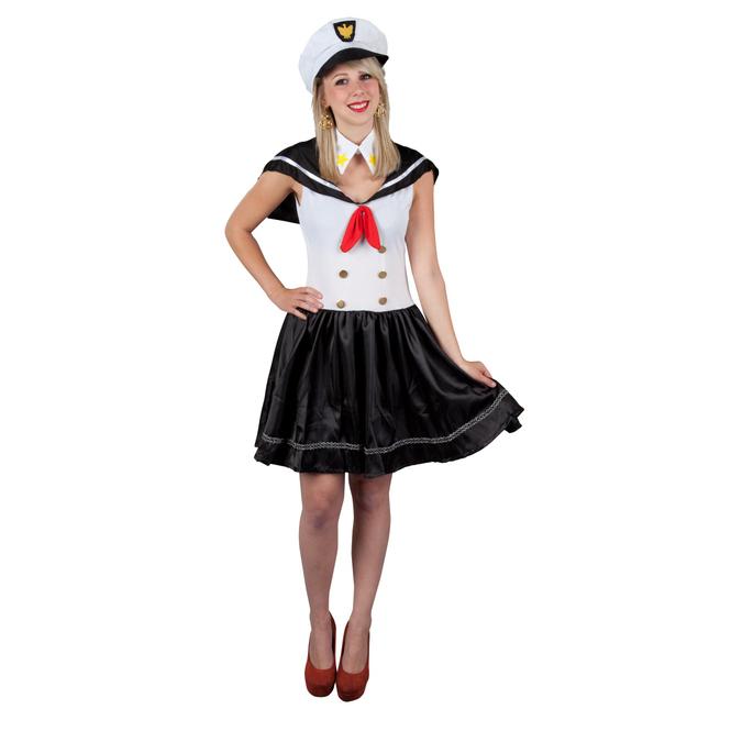 Kostüm - Matrosin, für Erwachsene, 3-teilig