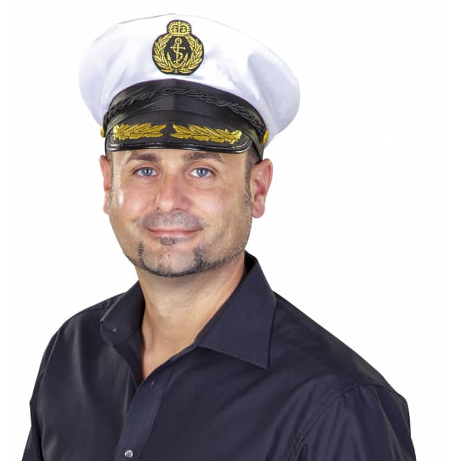 Mütze - Kapitän, für Erwachsene