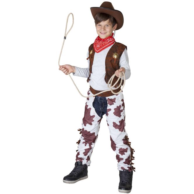 Kostüm - Cowboy - für Kinder - 3-teilig - Größe 134/140