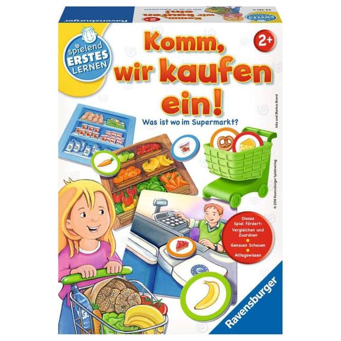 Komm, wir kaufen ein! - Spielend Erstes Lernen - Ravensburger