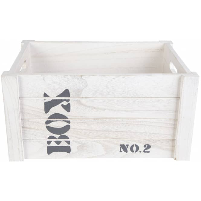 Deko-Kiste - aus Holz - in L
